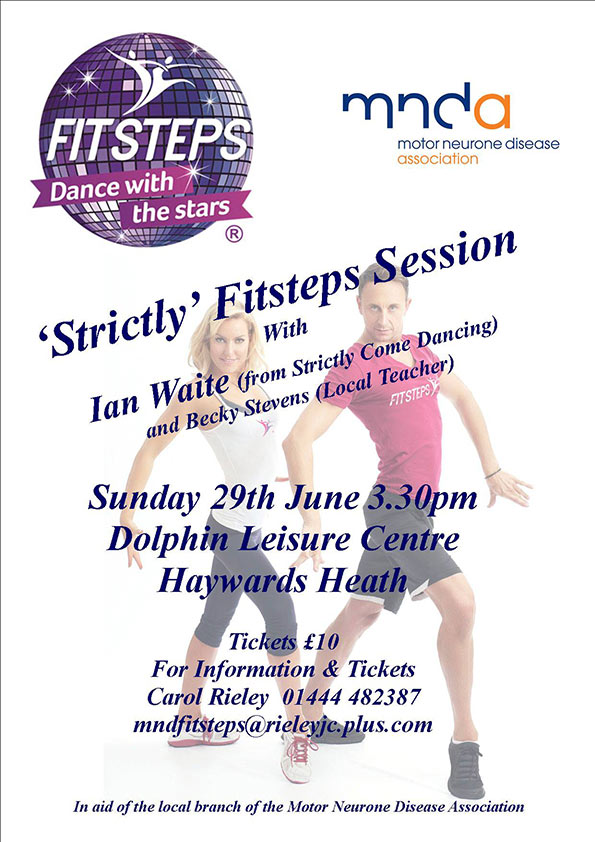 Strictly FitSteps Session with Ian Waite